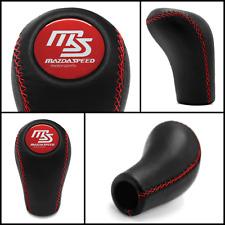 Mazdaspeed 5 6 Speed Gear Knob Red Stitch Mx 5 323 626 Xedos 6 Mx 3 Rx 8 Protg