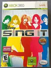 Disney Sing It (Microsoft Xbox 360, 2008) with Microphone