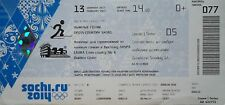 TICKET 13.2.2014 Olympia Sotschi Sochi Skilanglauf Cross Country Skiing D77