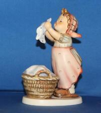 "Hummel Goebel 321 Wash Day 5.75"" Porcelain Figurine TMK6"