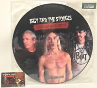 "Live at ATP 2010 picturedisc LP by Iggy Pop & The Stooges (2012 RSD 12"" EP) NEW"