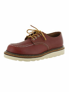 Red Wing Mens Classic Oxford Leather Moc Toe Shoes