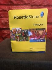 Rosetta Stone NEW FRENCH FRANCAIS LEVEL 1 VERSION 4 SEALED Totale SFA
