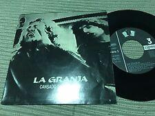 "LA GRANJA - CANSADO DE ESCUCHAR 7"" SINGLE 3 CIPRESES 91"