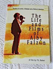 THE LIFE AND FILMS OF ALBY FALZON– DVD, R-ALL, LIKE NEW, FREE SHIPPING