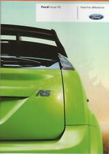 brochure folder 2009 FORD FOCUS RS !!! basis for WRC _ german text_ ____________