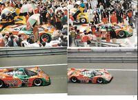 MAZDA 767 CHARGE #202 GROUP C LE MANS 24 1989 7 PERIOD PHOTOGRAPH TAKASHI YOTINO