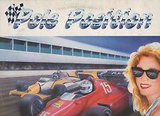 POLE POSITION 1984 LP COLEGIALA DAVID GRANT EURYTHMICS BILLY IDOL  MIKE FRANCIS