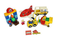 ~~LEGO DUPLO - Airport Town Building Set - Airplane Airport Rescue Octan