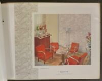 1937-38 French 'Creations Essex' Art Deco / Modern Wallpaper Trade Catalog