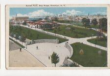 Sunset Park Bay Ridge Brooklyn NY 1921 USA Postcard 510a