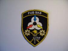 Suisse armée 21 écusson pied sks CA 9 x7 CM