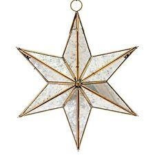 New Handmade Retro Easter Decorative Glass - Star Antique Pendant Ceiling Light