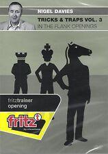 ChessBase: Davies-trucchi & Trap vol. 3 in the flank openings-Nuovo/Scatola Originale