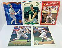 Mark McGwire 5 Card Lot 1988 Fleer 2nd Year, Donruss, Upper Deck SP Oakland A's