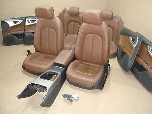 AUDI A7 Inneausstattung Lederausstattung Sportsitze Sitze Seats Leder Leather