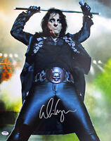 Alice Cooper Authentic Signed 16X20 Photo Autographed PSA/DNA ITP 1