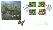 "2003 Nature of Australia ""Rainforests"" FDC - P&S Stamps"