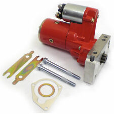 Chev Gear Reduction Mini Starter Motor Hi Torque 3HP  red sss1