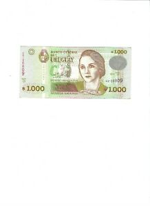 Uruguay, 1000 Pesos Uruguayos, 2011, Serie D