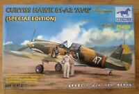 "Bronco Models WW2 Fighter. Curtiss Hawk 81-A2 ""AVG"" Special Edition 1:48th Scale"