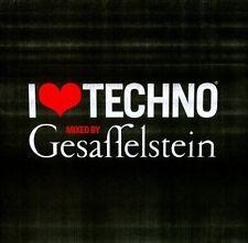 I Love Techno 2013 by Gesaffelstein (Mike Lévy) (CD, Oct-2013, Lektroluv)