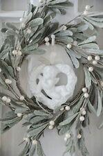 Engel Anhänger Porzellan Weihnachten Adventsdeko Shabby Chic