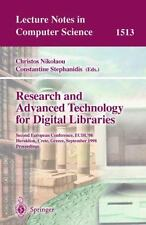 Research and Advanced Technology for Digital Libraries: Second European Conferen