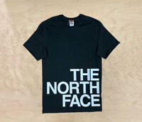 The North Face Graphic Flow Easy T Shirt Black White Short Sleeve Mens