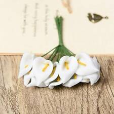 144 pcs/lot Calla Lily Party Decoration Craft PE Foam Flower Wedding///