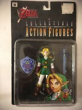 Nintendo Collectibles 1998 LEGEND OF ZELDA OCARINA OF TIME N64 Era Link Figure