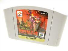 Nintendo 64 CASTLEVANIA AKUMAJO DRACULA Mokushiroku Cart Only JAPAN Game n6c *