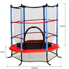 Small Kids Trampoline Foam Padding Enclosure Anti Slip Outdoor Patio Garden Play
