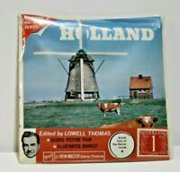 View-Master Unopened B190 HOLLAND w/ Coin and Stamp in Packet