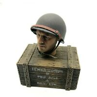 1/6 Scale ww2 Military Us Helmet Army Soldier usa d-day accessories figure Métal
