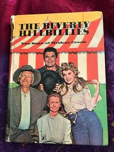 Very Rare BEVERLY HILLBILLIES Saga of Wildcat Creek TV VINTAGE  HARDCOVER 1963