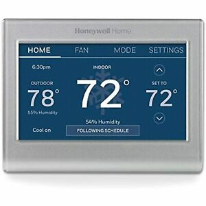 Honeywell Home RTH9585WF1004 Wi-Fi Smart Color Thermostat, 7 Day Programmable,