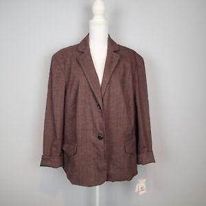 EVAN PICONE BLAZER, Ladies Jacket, SZ 24w plus  c1