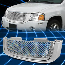 02-08 GMC ENVOY SUV CHROME ABS PLASTIC FRONT REPLACEMENT BUMPER GRILL/GRILLE