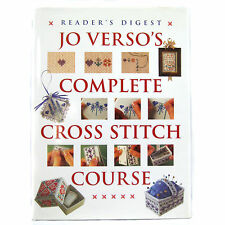 Complete Cross Stitch Course Craft Book Jo Versos