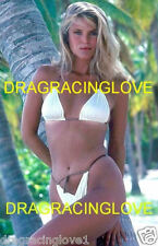 "Super ""Swimsuit"" Model Gorgeous ""Christie Brinkley"" Shear Bikini PHOTO! #1"