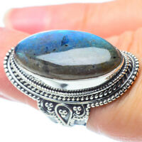 Large Labradorite 925 Sterling Silver Ring Size 6 Ana Co Jewelry R31059F