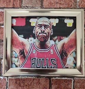 Michael Jordan Chicago Bulls Pop Art Tribute