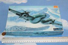 FUJIMI 1:72 MESSERSCHMITT Bf-11OC/D PLASTIC MODEL KIT