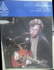 Eric Clapton Unplugged Guitar Recorded Versions TAB Songbook, 1992, 111 pages
