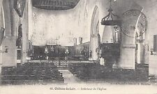 BF16192 chateau du loir interieur de l eglise  france front/back image