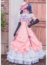 Black Butler Ciel Phantomhive Kuroshitsuji Pink Lolita Dress Cosplay Costume