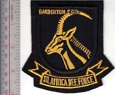 South Africa Defence Force SADF Army Barberton Commando Special Forces