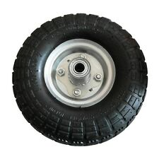 """Replacement 3.5 x 4"""" Pnuematic Trolley Wheel 4.10/3.50-4"""