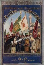 Macco Damascus Ottomans Turkish Oriental Jihad German-Turkish Association 1916